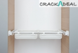Pull-out With Adjustable Double Drawer