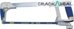 Irwin I-125 Heavy Duty Hacksaw With Bi-metal Blade