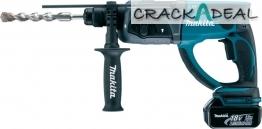 Makita Bhr202rfe 18v Sds-plus Lxt Rotary Hammer Drill