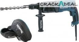 Makita 110v/240v Sds-plus Rotary Hammer Drill And Knee Pad Set