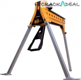 Croc-lock Compact Portable Work And Clamping System