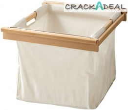 Laundry Bag With Beech Frame