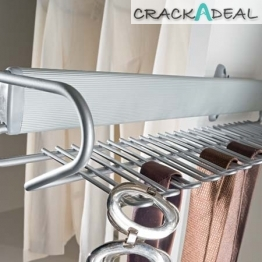 Pull-out Tie And Belt Rack, Side Mounted