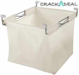Laundry Basket With Wire Frame
