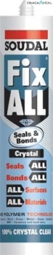 Fix All Seals & Bonds Crystal Sealant And Adhesive