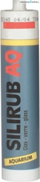 Silirub Aq Silicone Sealant For Glass