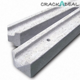 Concrete Fence Post 5ft Slotted Corner