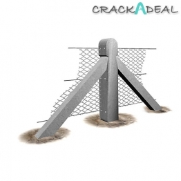 Supreme Concrete Chainlink Two Way Post 6'9inch Chk206t