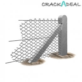 Supreme Concrete Chainlink Post 6-1 Post