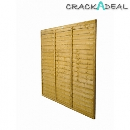 Trade Lap Fence Panel Dip Treated