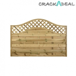 Pitsford Prague Fence Panel Pressure Treated