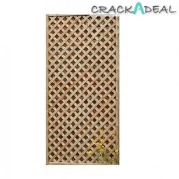 Forest Garden Rosemore Lattice Panel 1800mm X 600mm