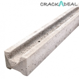 Supreme Concrete Intermediate Slotted Fence Post 7' 109mm X 94mm X 2135mm
