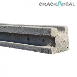 Supreme Concrete Corner Slotted Fence Post 8' 125mm X 125mm X 2440mm
