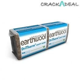Knauf Earthwool Dritherm Cavity Slab 37 Standard 75mm X 1200 X 455mm (4.37m
