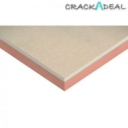 Kingspan Kooltherm K17 Insulated Plasterboard 12.5mm Facing 2400mm X 1200mm X 80mm