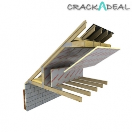 Xtratherm Pitched Roof Board 2400mm X 1200mm X 125mm