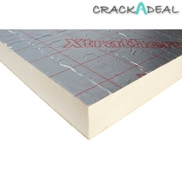 Xtratherm Pitched Roof Insulation Board 80mm X 1200mm X 2400mm