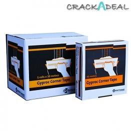 British Gypsum Gyproc Metal Reinforced Corner Tape 30m