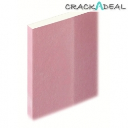 Knauf Fire Panel Plasterboard Tapered Edge 12.5mm X 2400mm X 1200mm
