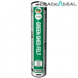 Iko Shed Felt Green Slate 1m X 10m