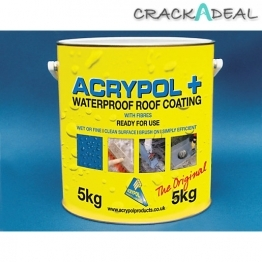 Acrypol+ Waterproof Roof Coat 5kg Black Rc3005/5