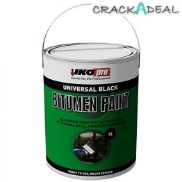 Ikopro Black Bitumen Paint 2.5ltr