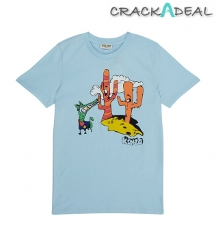 Beegee Dog Cactus T-shirt 14 Years