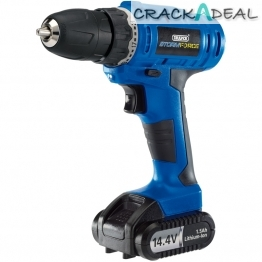 Storm Force® Cordless Rotary Drill With Li-ion Battery (14.4v)