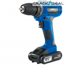 Storm Force® Cordless Drill With Li-ion Battery (18v)