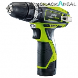 Storm Force® 10.8v Cordless Hammer Drill With Li-ion Battery