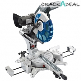 305mm Double Bevel Sliding Compound Mitre Saw With Laser Cutting Guide (2000w)