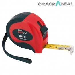 3m/10ft Soft Grip Metric/imperial Measuring Tape