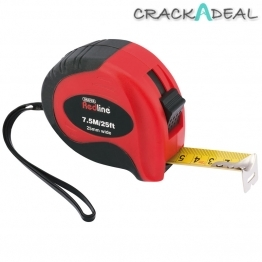 7.5m/25ft Soft Grip Metric/imperial Measuring Tape