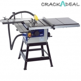 200mm 1100w 230v Cast Iron Table Saw Complete Kit
