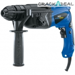 Storm Force® Sds+ Rotary Hammer Drill Kit With Rotation Stop (850w)