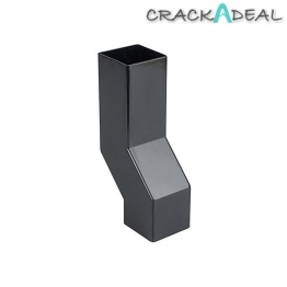 Osma Squareline 4t838 Pipe Wall Offset 61mm Black