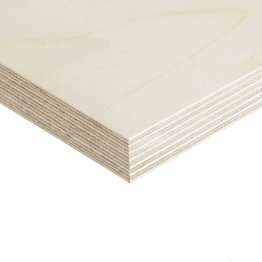 Birch Plywood Bb Grade 2440mm X 1220mm (8ft X 4ft) - Thickness - 4mm (sample Only)
