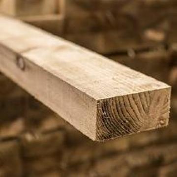 Sawn Timber Regularised Treated C16 47mm X 100mm