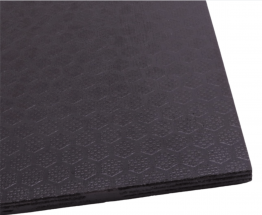 Phenolic Plywood Hexagon Pattern Black Anti Slip Mesh Plywood