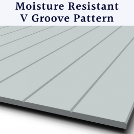 9mm Primed Mdf Wall Panels V Groove | Vertical Pattern | Moisture Resistant Mdf Panels For Walls | Bath Panels