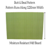 9mm Mdf Wall Panels Short Grain Beaded And Grooved T&g Pattern | Moisture Resistant Mdf Panels For Walls And Bath